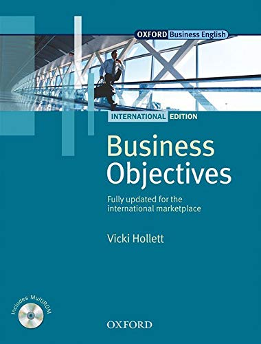 9780194578301: Business Objectives International Edition: Business Objectives. Student's Book + multi-ROM: Student Book Pack