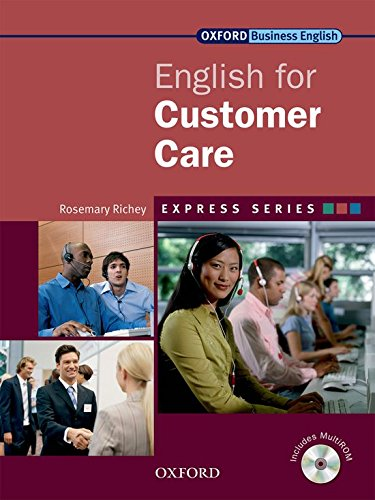 9780194579063: English for Customer Care [With CDROM] (Oxford Business English)