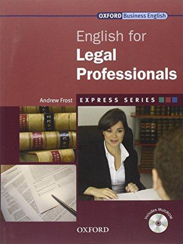 9780194579155: Express Series: Express english for lawyers. Student's book. Per le Scuole superiori. Con Multi-ROM