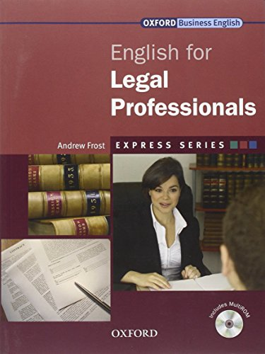 9780194579155: Express Series: English for Legal Professionals: Express Series: English for Legal Professionals Student's Book and MultiROM Pack