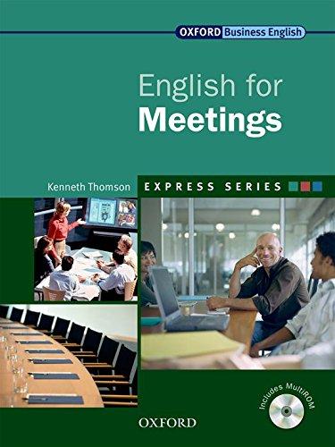 9780194579339: Express Series: Express english for meetings. Student's book. Per le Scuole superiori. Con Multi-ROM