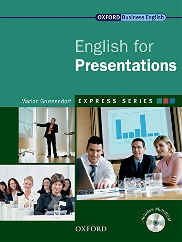 ENGLISH FOR PRESENTATIONS: PACK: MARION GRUSSENDORF