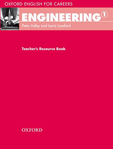 9780194579483: Oxford English for Careers: Engineering 1: Engineering 1. Teacher's Book