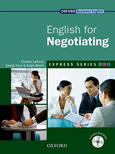 9780194579506: English for Negotiating [With CDROM] (Oxford Business English)