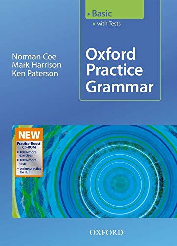 9780194579780: Oxford Practice Grammar Basic with Answers + Practice-Boost CD-ROM: With Key Practice-coost CD-ROM Pack Basic level