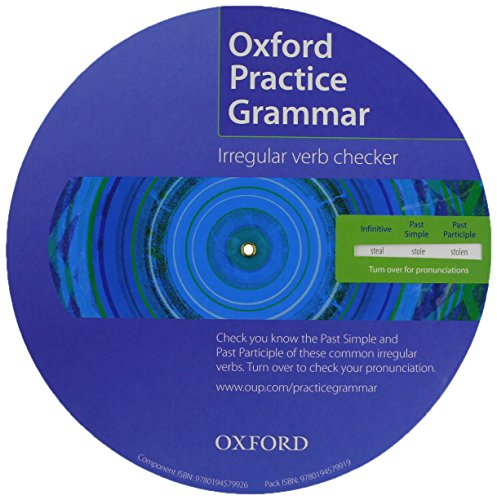 9780194579919: Oxford Practice Grammar: Irregular Verb Spinner Pack