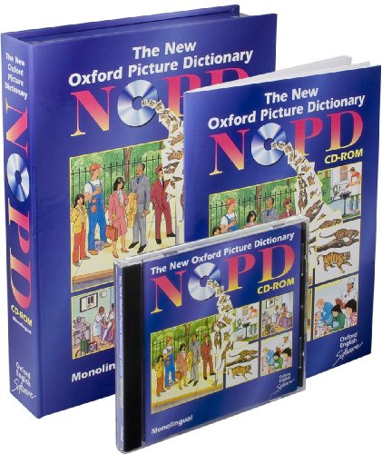 9780194588669: The New Oxford Picture Dictionary CD-ROM: Oxf pict dict cdrom monol eng: Monolingual Version Single User Licence (Diccionarios)