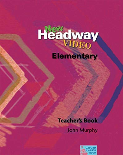 9780194591898: New headway video elem video guide: Teacher's Book Elementary level