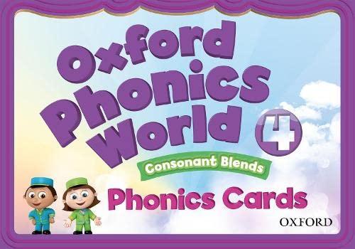 9780194593076: Oxford Phonics World: 4: Phonics Cards