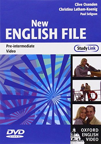 9780194593939: New English File Pre-Intermediate: DVD: StudyLink Video Pre-intermediate lev (New English File Second Edition)