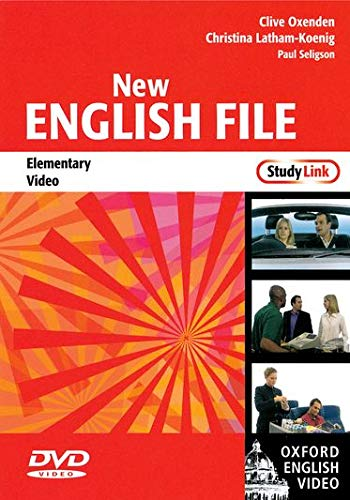 9780194593946: New English File: Elementary StudyLink Video: Six-level general English course for adults
