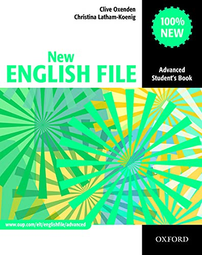 9780194594585: New English file advanced student's book