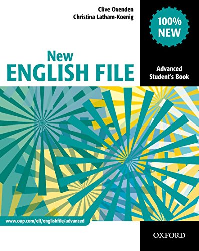 9780194594585: New english file. Advanced. Student's book. Con espansione online. Per le Scuole superiori