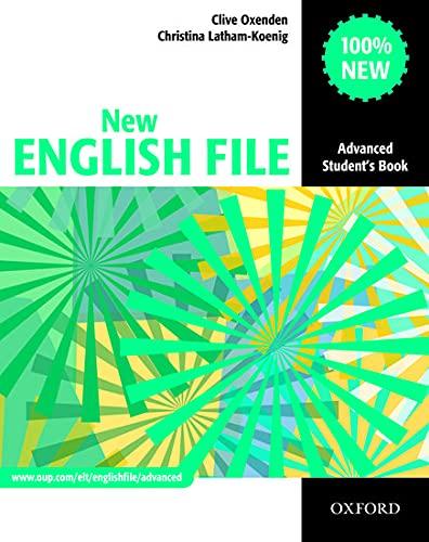 9780194594585: New English File ADVANCED STUDENT'S BOOK