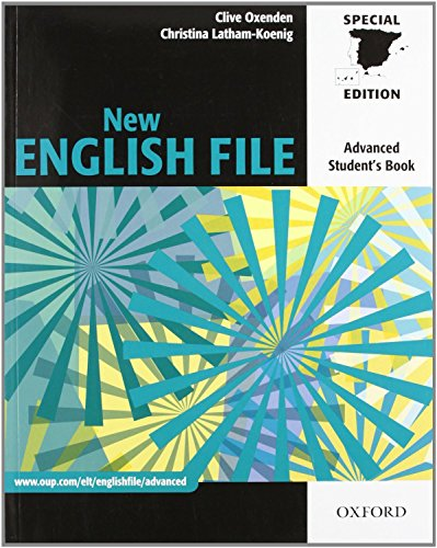 9780194594592: New English File Advanced: Student's Book (Spain) (ES)
