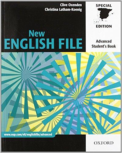 9780194594592: NEW ENG FILE ADV SB (SPAIN) (ES)