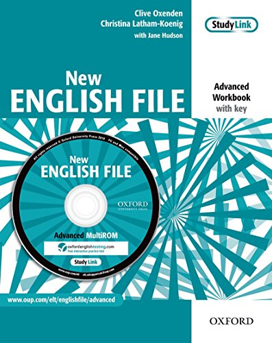 9780194594639: New English File Advanced. Workbook with Multi-ROM Pack (New English File Second Edition)