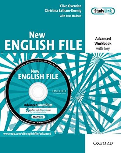 9780194594639: New english file. Advanced. Workbook. Without key. Per le Scuole superiori. Con Multi-ROM