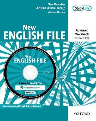 9780194594646: New english file. Advanced. Workbook. Without key. Per le Scuole superiori. Con Multi-ROM