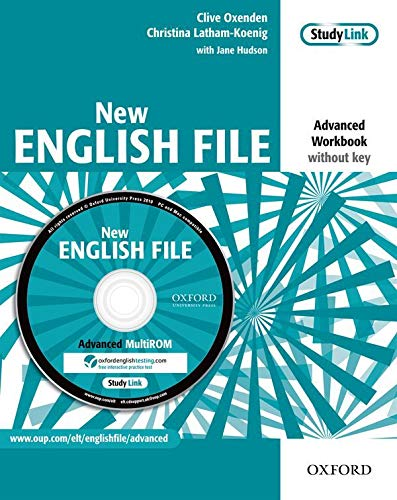 9780194594646: New English File: Advanced: Workbook (without key) with MultiROM Pack: Six-level general English course for adults