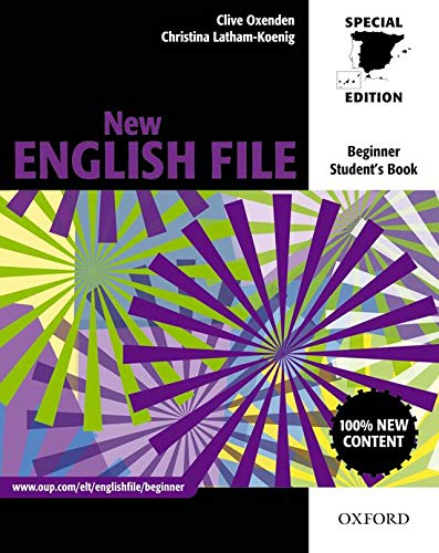 9780194594653: New English File Beginner Student's Book for Spain (New English File Second Edition)