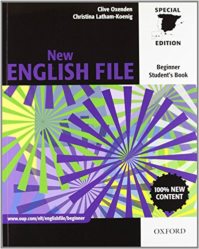 9780194594677: New English File 2nd Edition Beginner Student's Book + Workbook with Key Pack (New English File Second Edition)