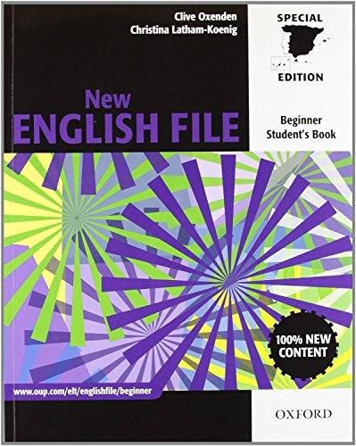 9780194594677: New english file beg sb+wb w/o mrom pk