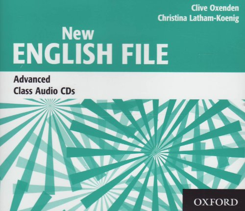 9780194594837: New English File Advanced: Class CDs (X3) (New English File Second Edition)