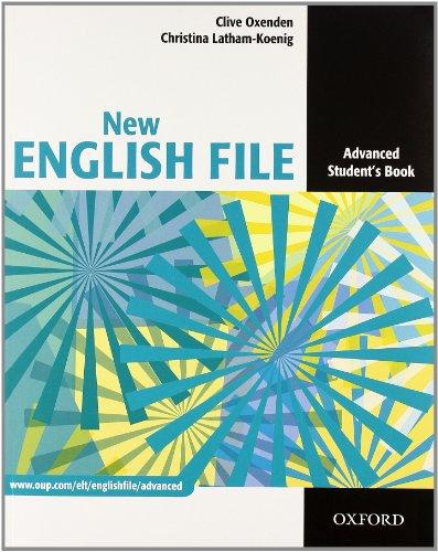 9780194594868: New english file. Advanced. Student's book-Workbook. Con espansione online. Per le scuole superiori. Con CD-ROM
