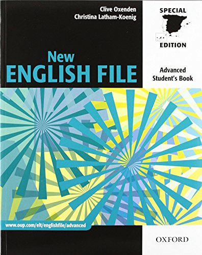 9780194594882: New English File Advance. Student's Book and Workbook without Key Key Pack (ES) (New English File Second Edition)