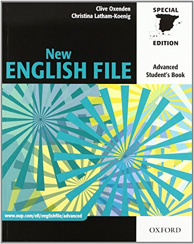 9780194594899: New English File Advanced. Student Book + Workbook + Multi-Rom with key