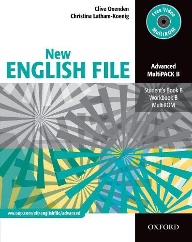 9780194595858: New english file. Advanced. Vol. B. Student's book-Workbook-Key. Per le Scuole superiori. Con Multi-ROM