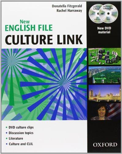 9780194595964: New english file culture links. Student's book. Per le Scuole superiori. Con CD Audio. Con DVD-ROM