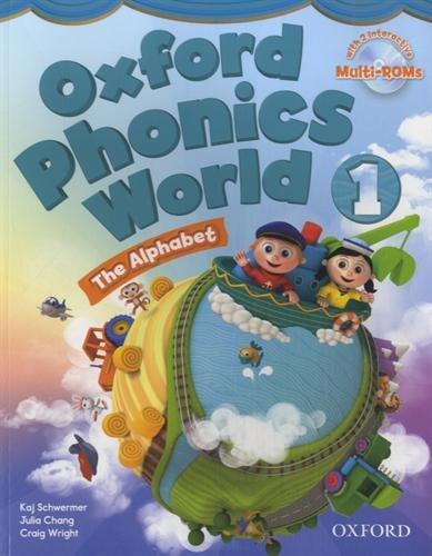 9780194596176: Oxford Phonics World: Level 1: Student Book with MultiROM