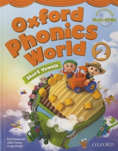 9780194596183: Oxford Phonics World: Level 2: Student Book with MultiROM