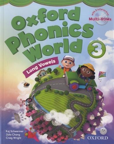 9780194596190: Oxford Phonics World: 3: Student Book with MultiROM