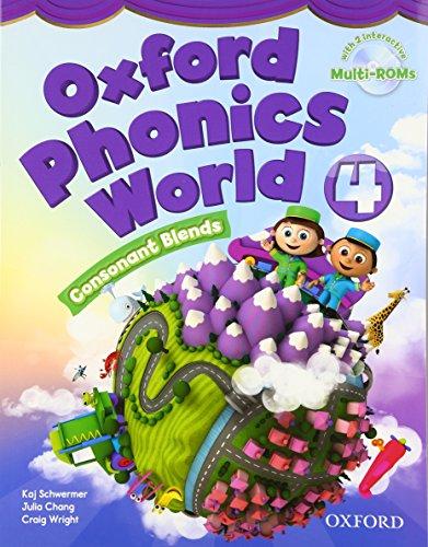 OXFORD PHONICS WORLD 4 SB WITH MULTIROM