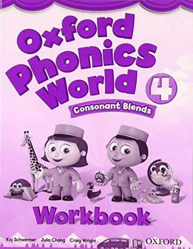 9780194596268: Oxford Phonics World: Level 4: Workbook