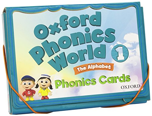9780194596336: Oxford Phonics World: Level 1: Phonics Cards