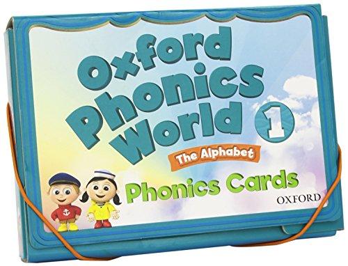 9780194596336: Oxford Phonics World: 1: Phonics Cards