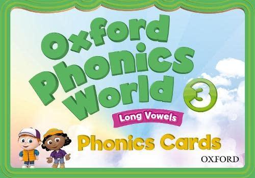 9780194596350: Oxford Phonics World: 3: Phonics Cards