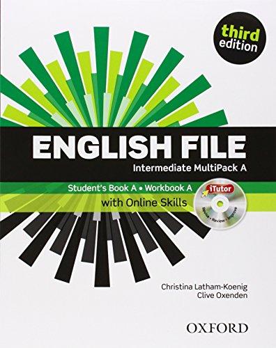 9780194597111: English File third edition: English file digital. Intermediate. Part A. Student's book-Workbook-iTutor-iChecker. With keys. Con espansione online. Per le Scuole superiori