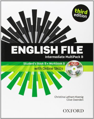 9780194597128: English File: Intermediate: Multipack B with iTutor and Online Skills