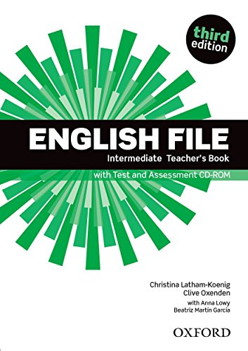 9780194597173: English file intermediate Teacher's Book : With Test and Assessment CD-ROM