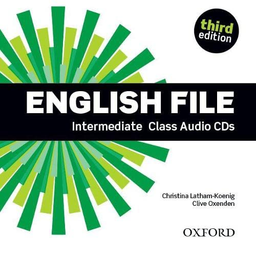 9780194597197: English File third edition: Intermediate: Class Audio CDs