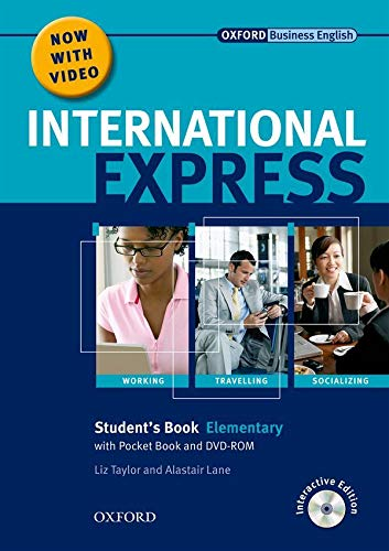9780194597364: International Express Elementary. Student's Pack (Student's Book, Pocket Book & DVD) Interactive Editions (International Express Second Edition)