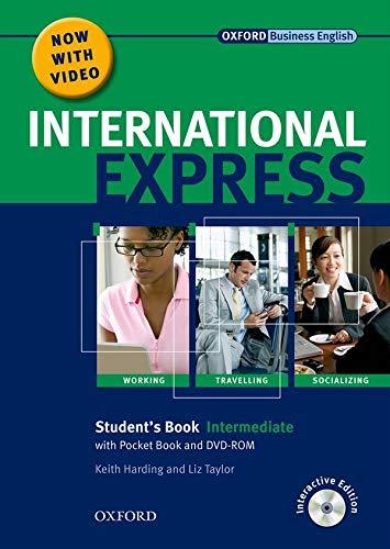 9780194597371: International Express: Intermediate Student Pack: Student Book, Pocket Book, DVD-ROM
