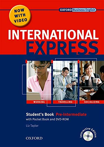 9780194597388: International Express, Interactive Editions: Pre-Intermediate: Student's Pack: (Student's Book, Pocket Book & DVD)