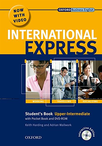 9780194597395: International Express Upper-Intermediate: Student's Pack: (Student's Book, Pocket Book & DVD) Interactive Editions (International Express Second Edition)
