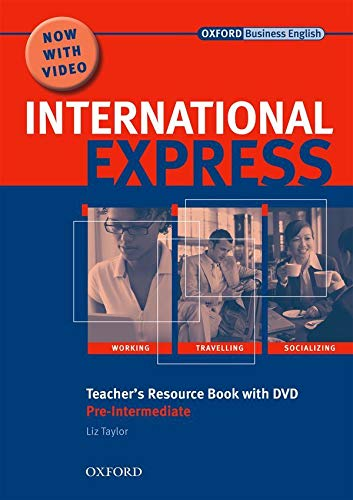 9780194597418: International Express: Pre-Intermediate: Teacher's Resource Book with DVD